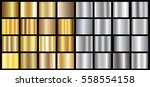 gold silver gradient background ... | Shutterstock .eps vector #558554158