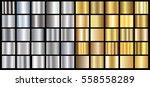 gold silver gradient background ...   Shutterstock .eps vector #558558289