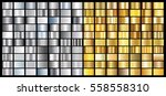 gold silver gradient background ... | Shutterstock .eps vector #558558310