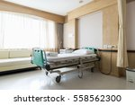 interior of an empty hospital... | Shutterstock . vector #558562300
