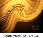 abstract curve. smooth silk...   Shutterstock .eps vector #558576268