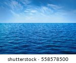 Water Cloud Horizon Background