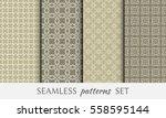 seamless geometric line...   Shutterstock .eps vector #558595144