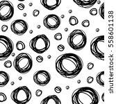 vector seamless pattern of... | Shutterstock .eps vector #558601138