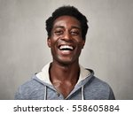 happy black man.   Shutterstock . vector #558605884