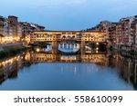 Famous Ponte Vecchio Bridge...