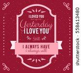 hand lettered vintage st....   Shutterstock .eps vector #558613480