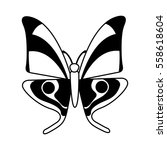 cute butterfly isolated icon... | Shutterstock .eps vector #558618604