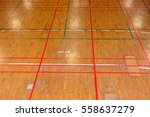 Wooden Floor Of A Sports Gym