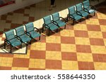 public benches seats chairs at... | Shutterstock . vector #558644350