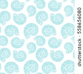 seamless pattern with spiral... | Shutterstock .eps vector #558656080