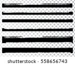 grunge paint stripe . vector... | Shutterstock .eps vector #558656743
