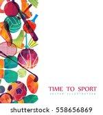 color sport background.... | Shutterstock .eps vector #558656869
