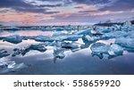 Iceland  Jokulsarlon Lagoon ...