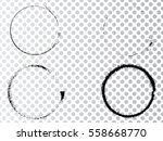 vector frames. circle for image.... | Shutterstock .eps vector #558668770