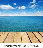 Wood  Blue Sea And Sky...