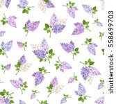 vector seamless pattern with... | Shutterstock .eps vector #558699703
