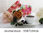 coffee time | Shutterstock . vector #558713416