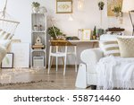 modern and multifunctional... | Shutterstock . vector #558714460