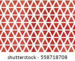watercolor red triangle pattern.   Shutterstock . vector #558718708