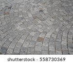 cobble stones  curved cobble... | Shutterstock . vector #558730369