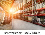 warehouse industrial and... | Shutterstock . vector #558748006