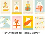 collection of banner ... | Shutterstock .eps vector #558768994