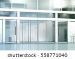 Blank Commercial Building Glas...