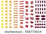 red label banner ribbon vector... | Shutterstock .eps vector #558773014