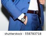 closeup fashion image of luxury ... | Shutterstock . vector #558783718