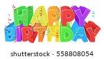 A Happy Birthday Bright Color...