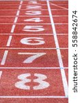 Small photo of athletic running track