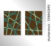 brochure abstract design... | Shutterstock .eps vector #558842890