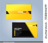 yellow and black modern... | Shutterstock .eps vector #558844699