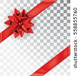 ribbon tied at the corners....   Shutterstock .eps vector #558855760