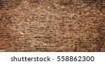 brick wall texture grunge urban ... | Shutterstock . vector #558862300