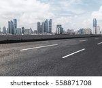 qingdao city skyline | Shutterstock . vector #558871708