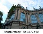 beautiful old building   Shutterstock . vector #558877540