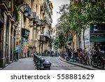 Gothic Quarter In Barcelona ...