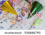 fancy party humor  confetti ... | Shutterstock . vector #558888790