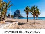 calpe   costa blanca   spain | Shutterstock . vector #558895699