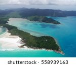 whitsunday islands   great... | Shutterstock . vector #558939163