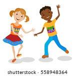 Dancing Of Little Cartoon Fun...