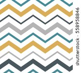 awesome zigzag seamless pattern | Shutterstock .eps vector #558958846