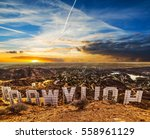 los angeles  california  ... | Shutterstock . vector #558961129