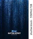 magic glitter background in... | Shutterstock .eps vector #558961738
