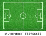 green grass soccer field... | Shutterstock . vector #558966658