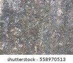 dirty dark cement floor... | Shutterstock . vector #558970513