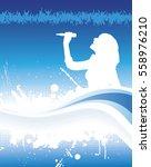 banner for music concert. | Shutterstock .eps vector #558976210