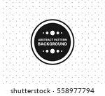 polka dot hexagonal pattern... | Shutterstock .eps vector #558977794